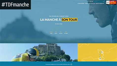Grand D�part du Tour de France 2016 : Le site