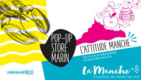 La Manche ouvre un Pop-up store à Paris