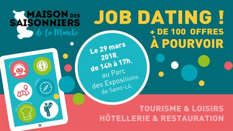 Job dating à Saint-Lô le 29 mars 2018