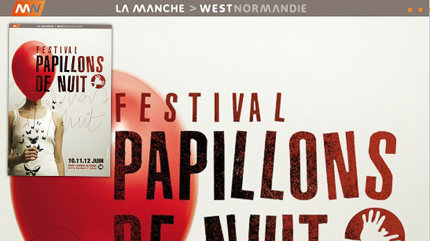 Les Papillons de Nuit (application factice)